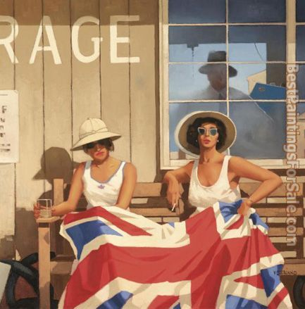 Jack Vettriano The British Are Coming