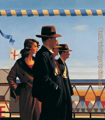 Jack Vettriano The Defenders of Virtue