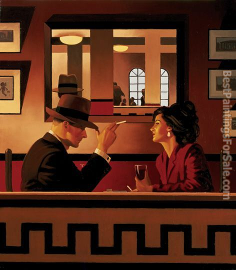Jack Vettriano The Man in the Mirror