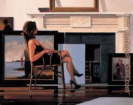 Jack Vettriano The Model and the Drifter