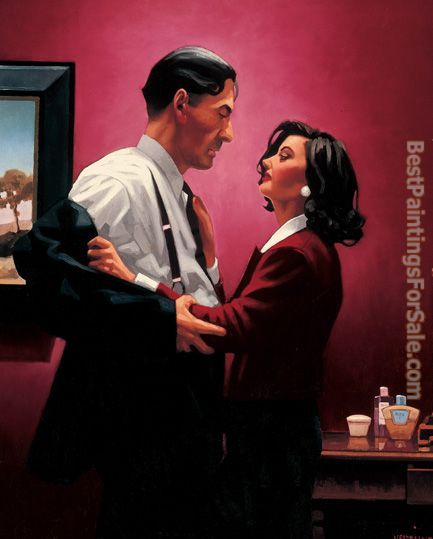 Jack Vettriano Welcome To My World
