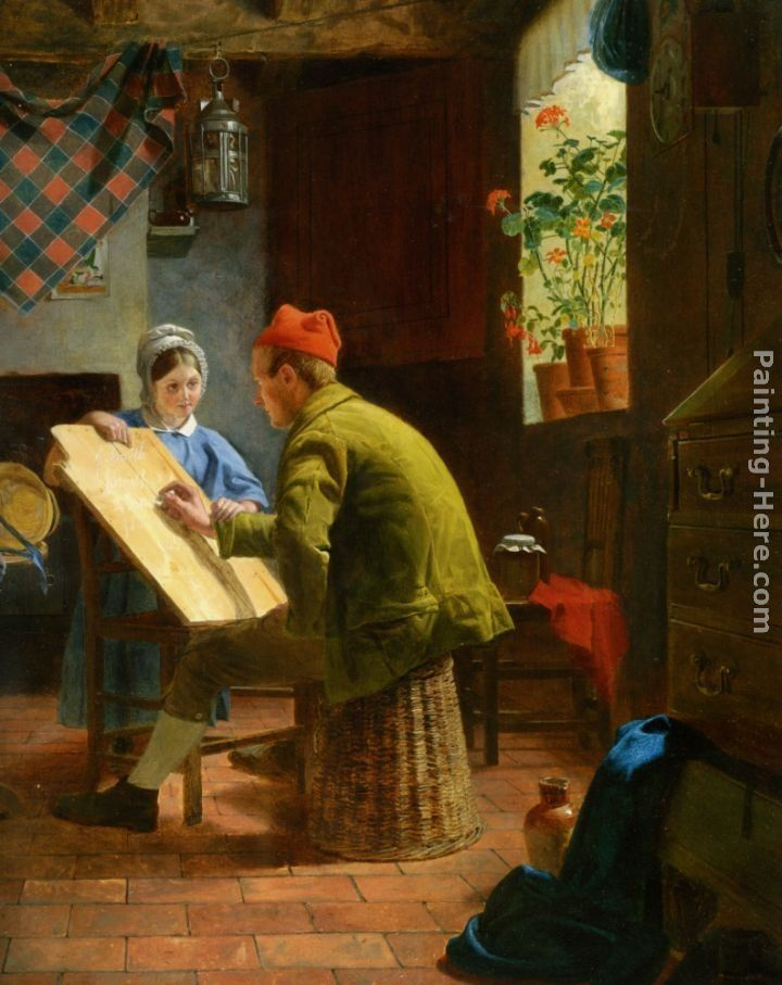 James Collinson The Writing Lesson