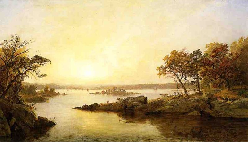Jasper Francis Cropsey Afternoon at Greenwood Lake