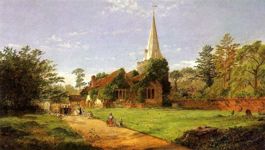 Jasper Francis Cropsey William Penn's Wedding