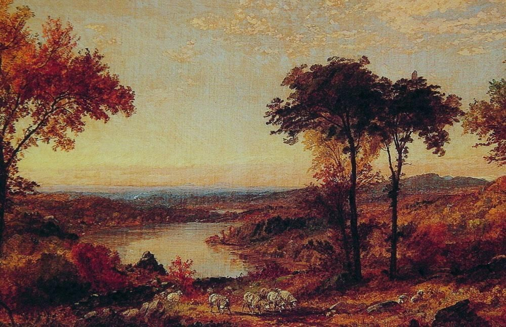 Jasper Francis Cropsey Wyoming Valley, Pennsylvania