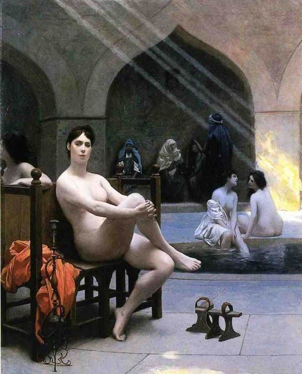 Jean-Leon Gerome The Women's Bath