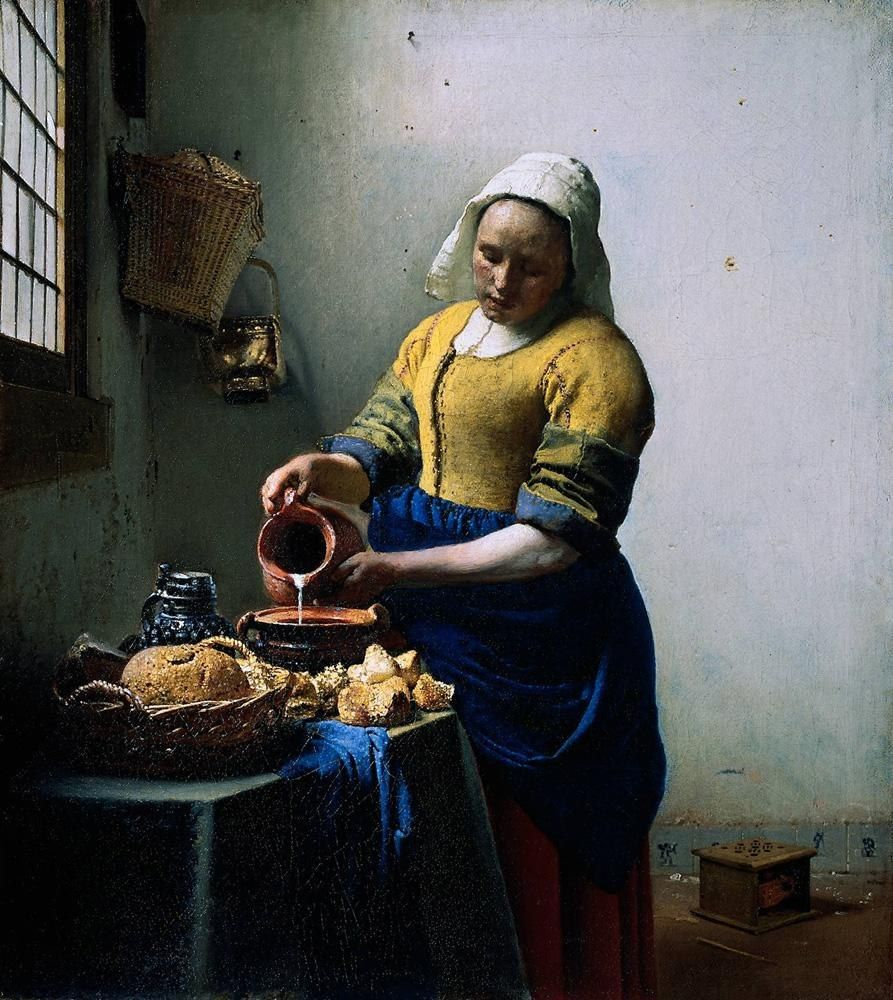 Johannes Vermeer The Kitchen Maid