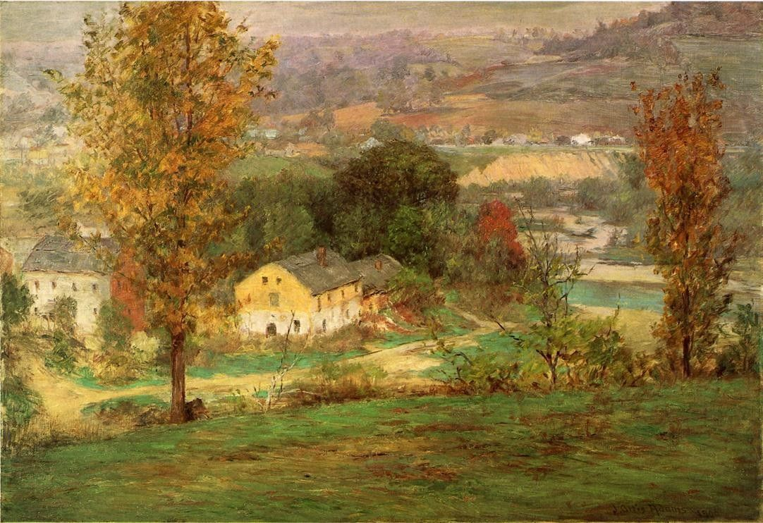John Ottis Adams In the Whitewater Valley