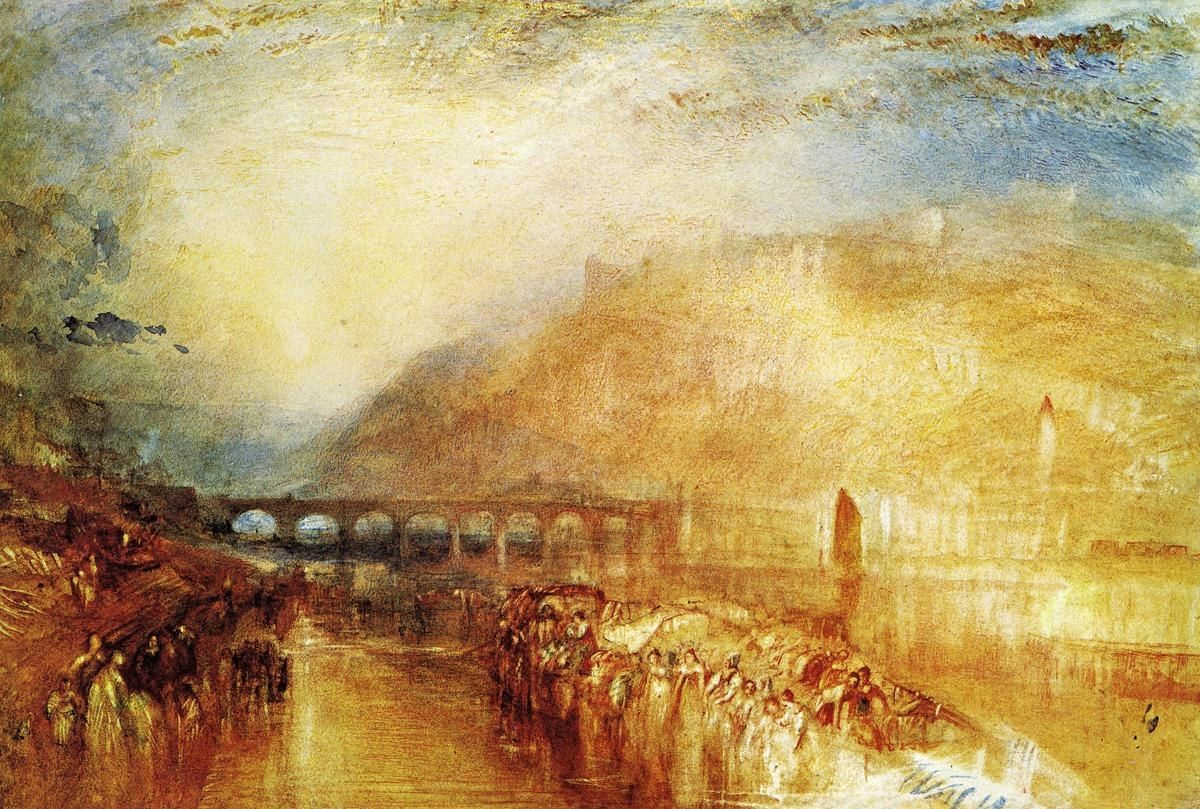 Joseph Mallord William Turner Heidelberg