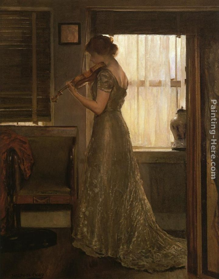 Joseph Rodefer de Camp The Violinist