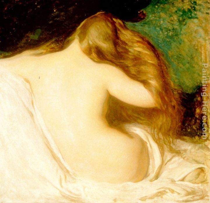 Joseph Rodefer de Camp Woman Drying her Hair