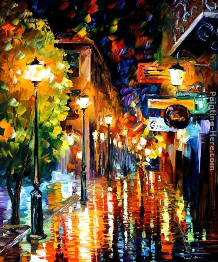 Leonid Afremov CITY