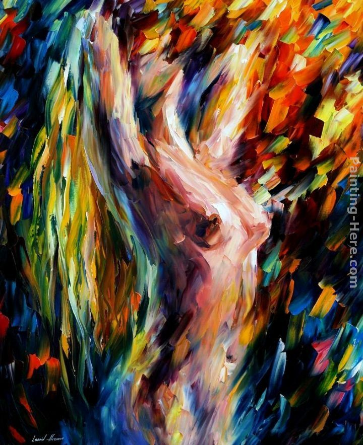 Leonid Afremov LOVE Shower