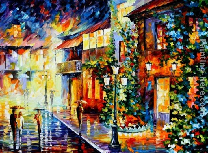 Leonid Afremov TOWN FROM THE DREAM