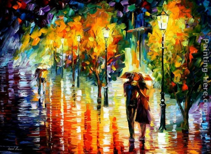 Leonid Afremov TWO COUPLES