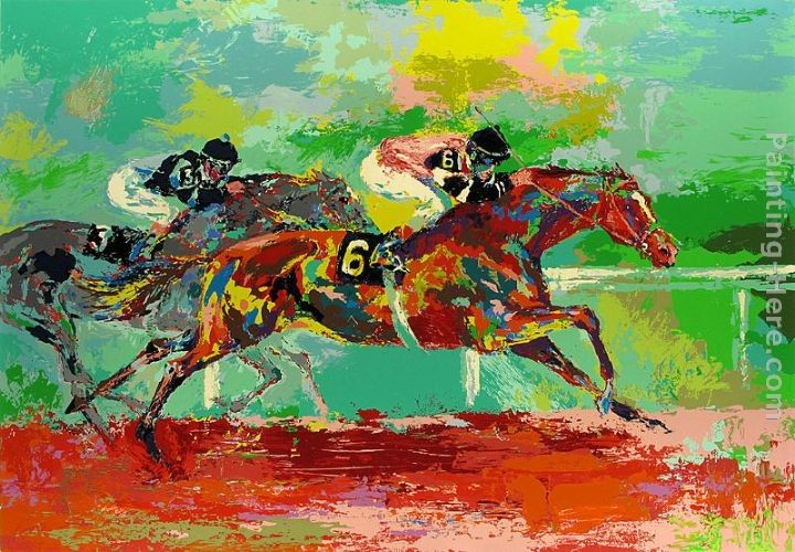 Leroy Neiman Race of the Year (Affirmed and Spectacular Bid)