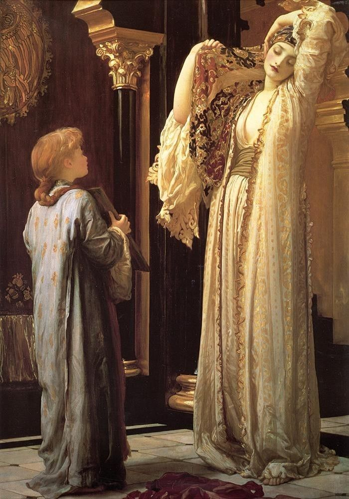 Lord Frederick Leighton Light of the Harem
