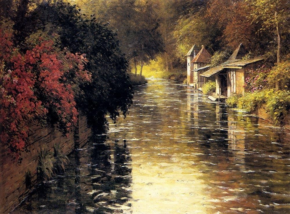 Louis Aston Knight A French River Landscape