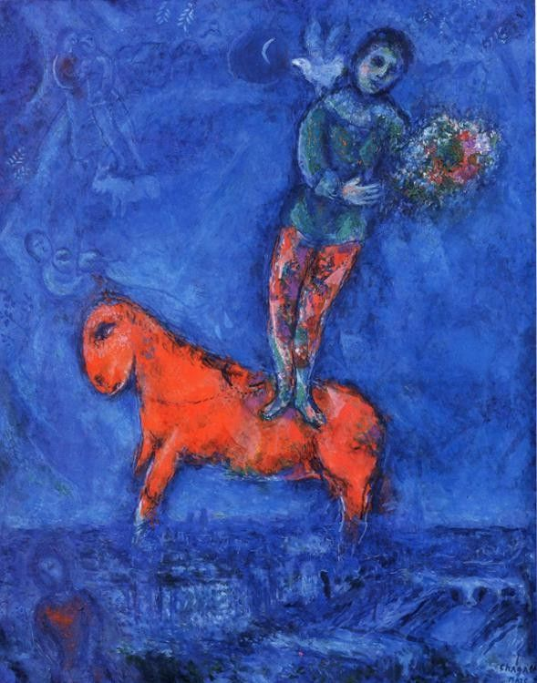 Marc Chagall Child with a Dove