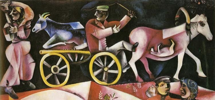 Marc Chagall The Cattle Dealer