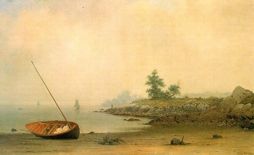 Martin Johnson Heade The Stranded Boat
