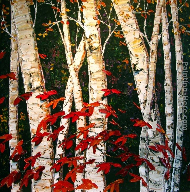 Maya Eventov Autumn Birches