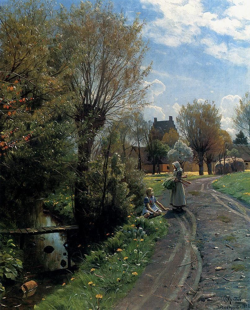 Peder Mork Monsted By The River, Brondbyvester