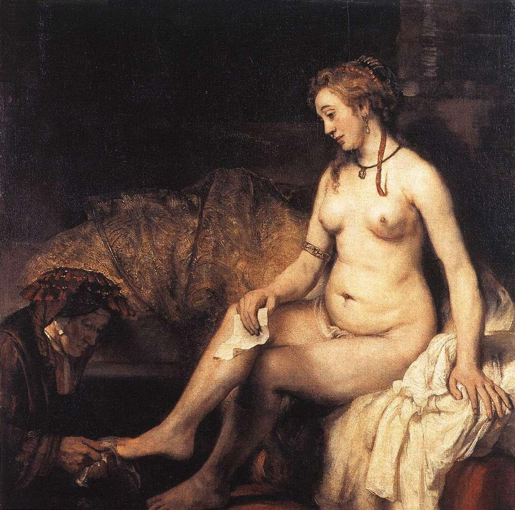 Rembrandt Bathsheba at Her Bath