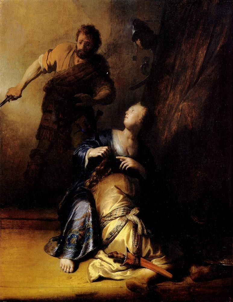 Rembrandt Samson And Delilah