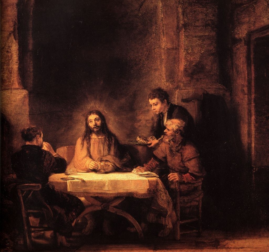 Rembrandt Supper at Emmaus