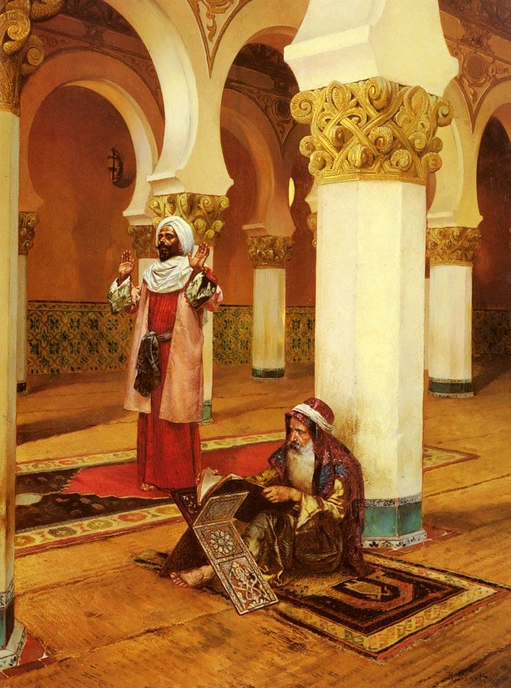 Rudolf Ernst Evening Prayer