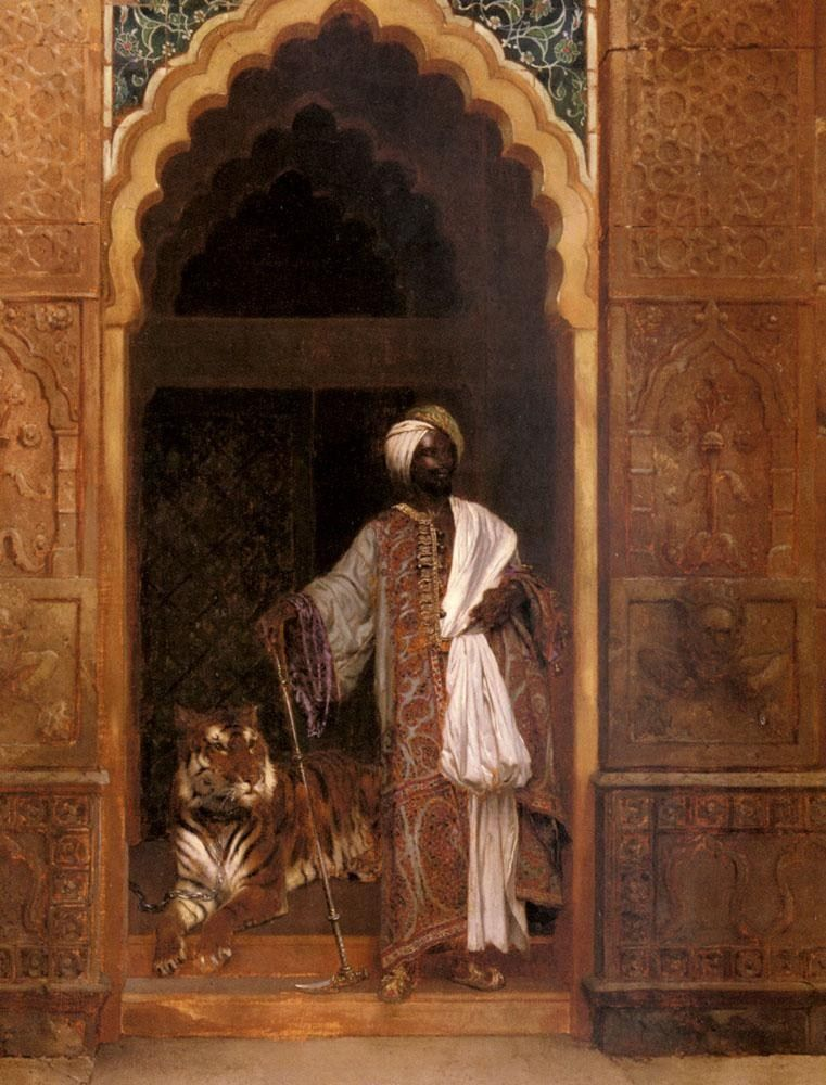 Rudolf Ernst The Palace Guard
