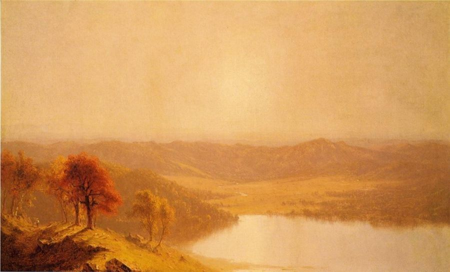 Sanford Robinson Gifford A View from the Berkshire Hills, near Pittsfield, Massachusetts