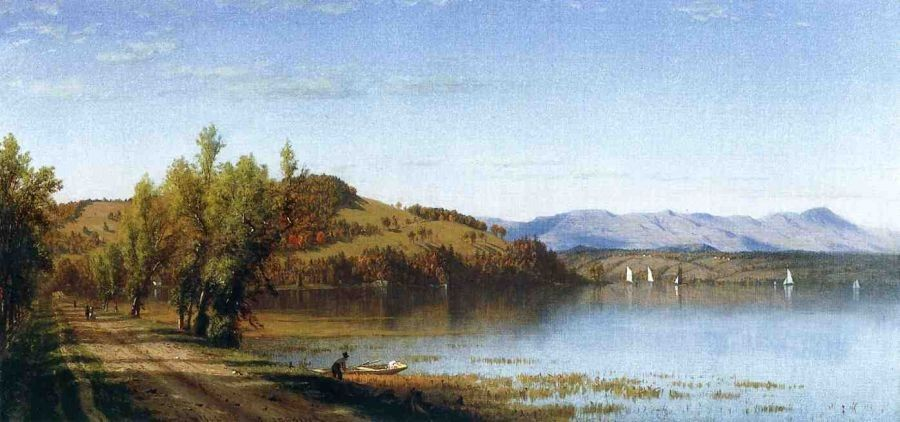 Sanford Robinson Gifford South Bay, on the Hudson, near Hudson, New York