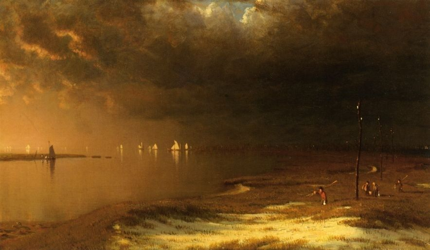 Sanford Robinson Gifford The Mouth of the Shrewsbury River