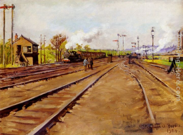 Stanhope Alexander Forbes The Sidings