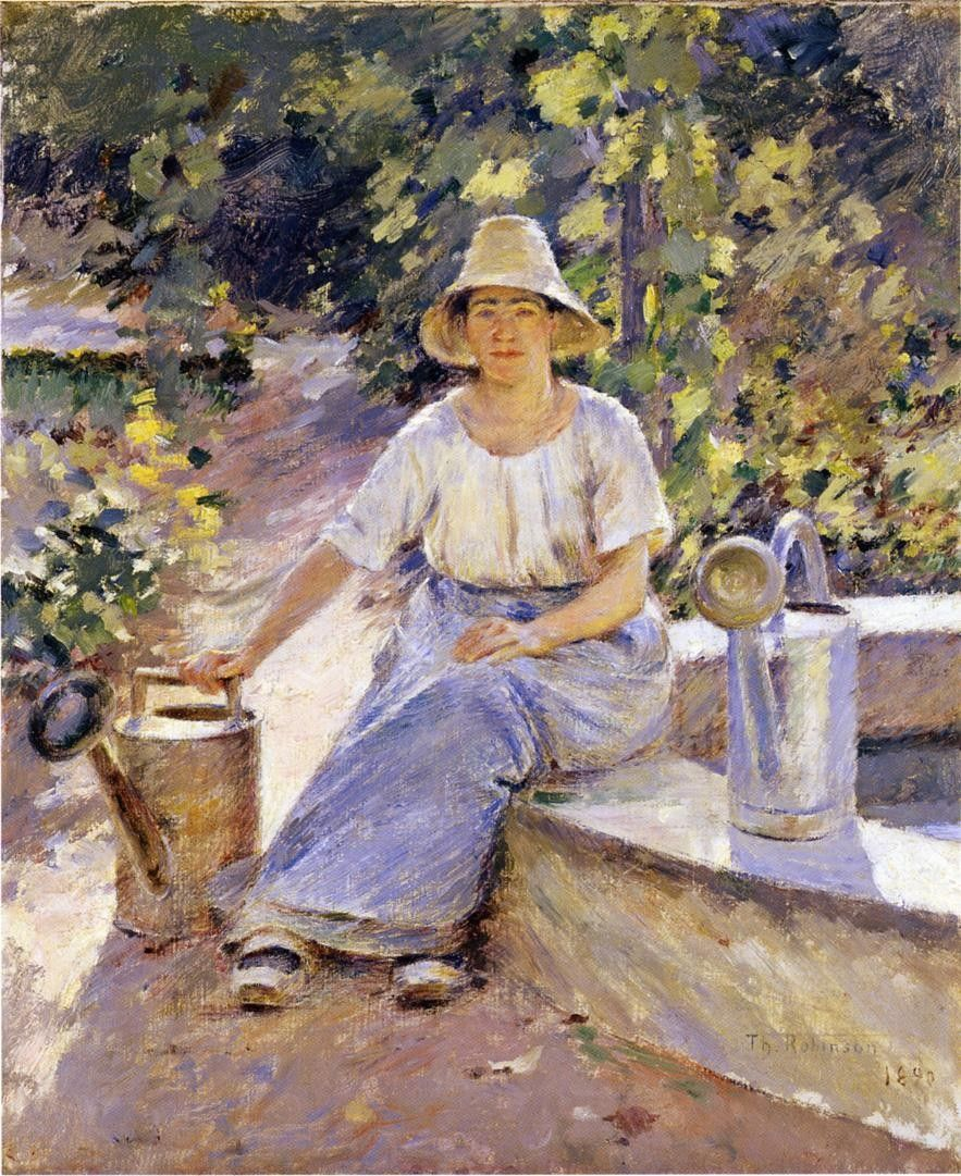 Theodore Robinson Watering Pots
