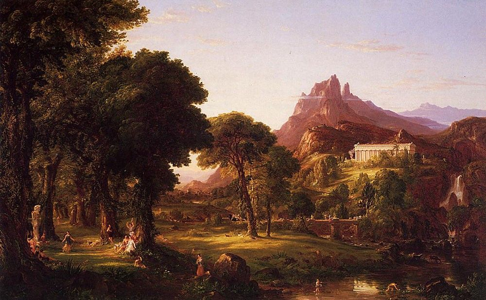 Thomas Cole Dream of Arcadia