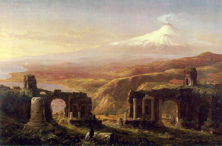Thomas Cole Mount Aetna from Taormina