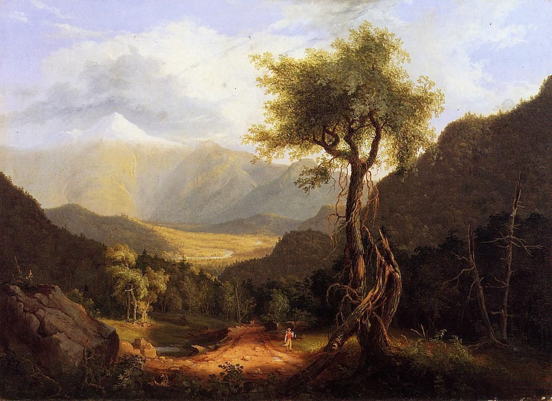 Thomas Cole View in the White Mountains