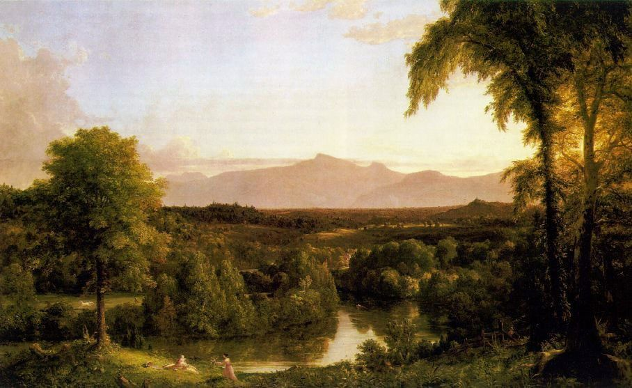Thomas Cole View on the Catskill - Early Autumn