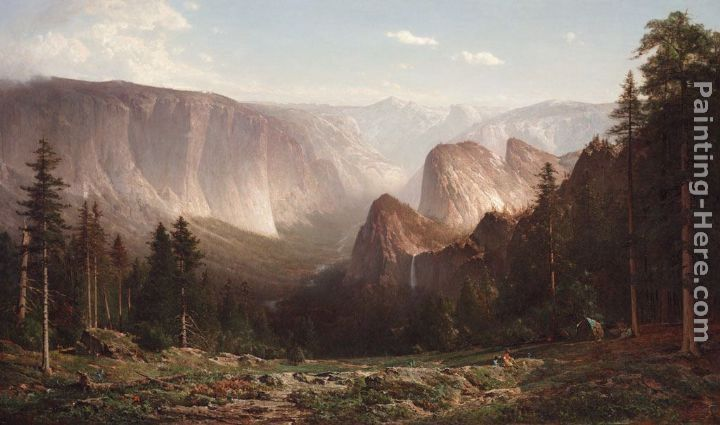 Thomas Hill Great Canyon of the Sierra,Yosemite