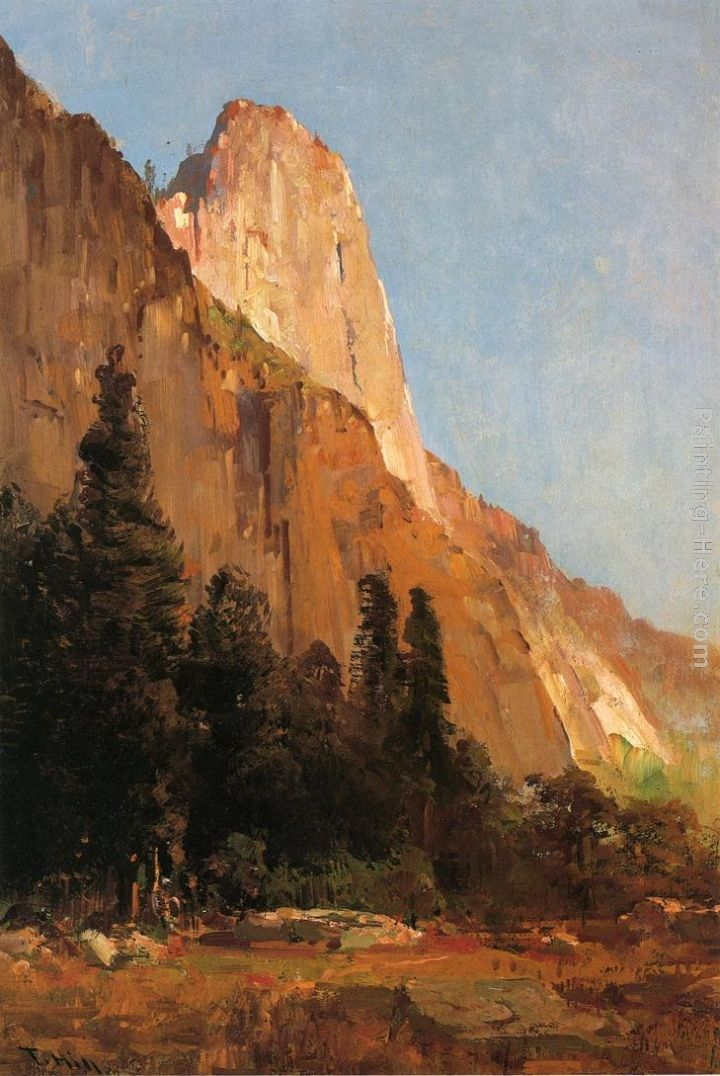 Thomas Hill Sentinel Rock, Yosemite