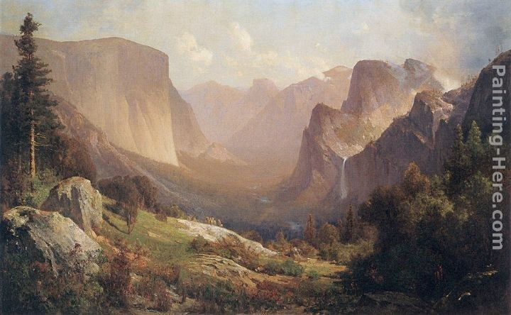 Thomas Hill View of Yosemite Valley