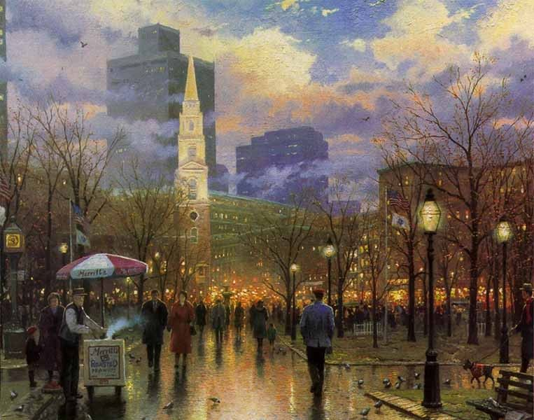 Thomas Kinkade Boston