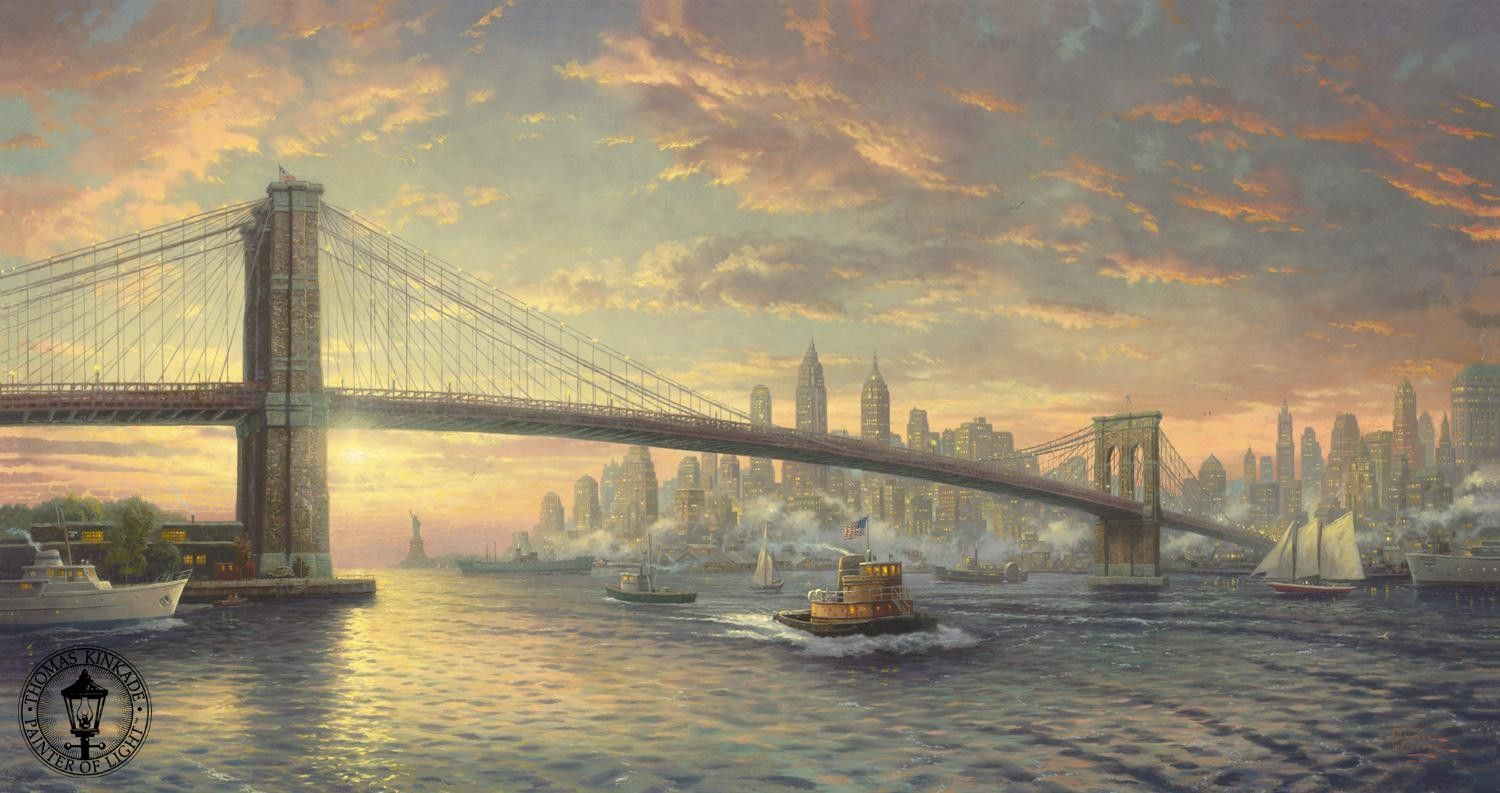 Thomas Kinkade The Spirit of New York