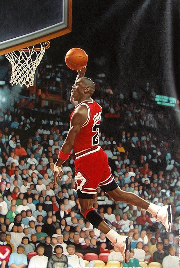 Unknown Michael Jordan NBA