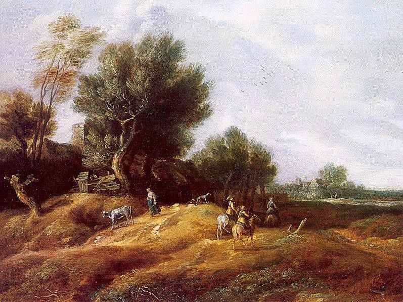 Unknown peeters Landscape with Dunes