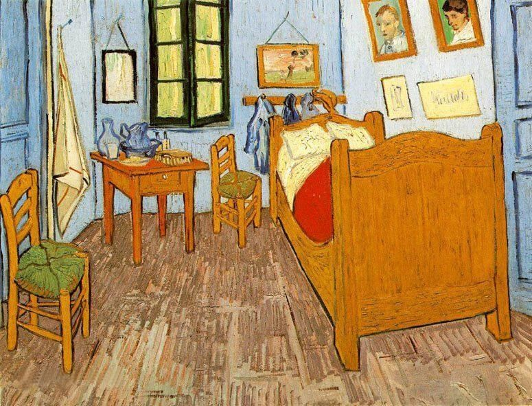Vincent van Gogh Bedroom Arles