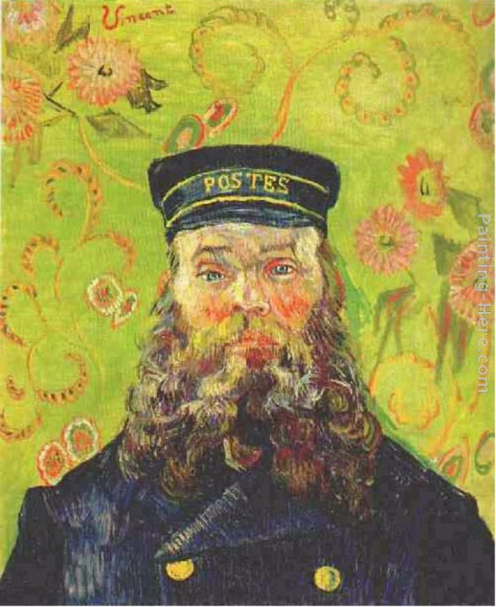 Vincent van Gogh Portrait of the Postman Joseph Roulin